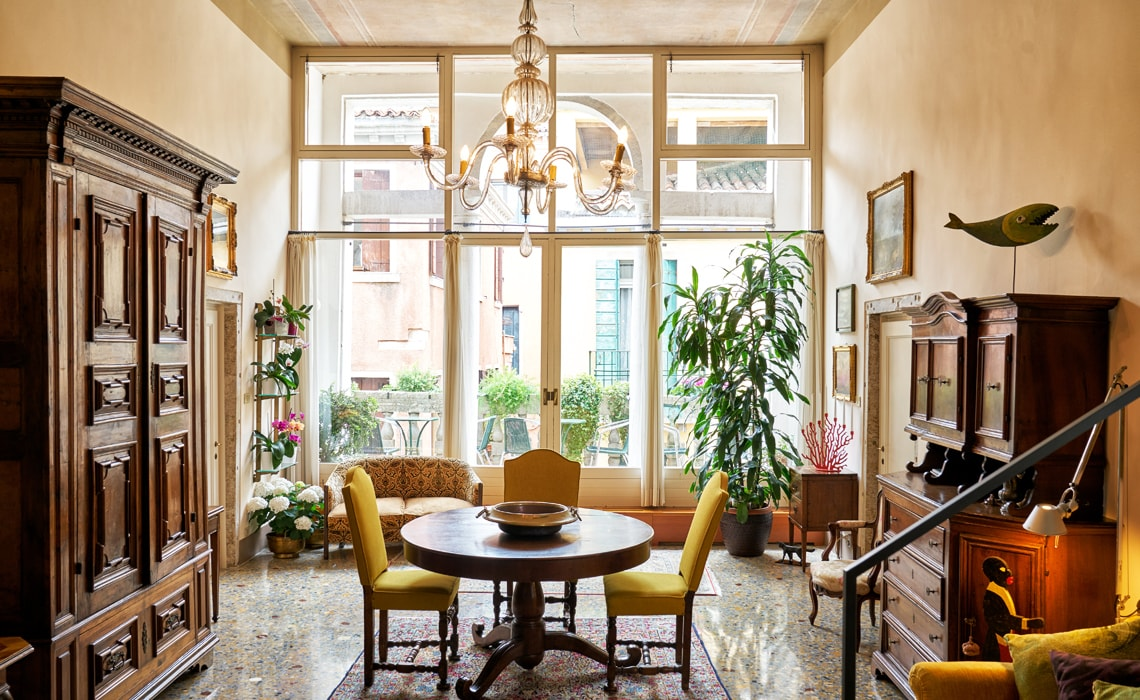 Salotto Bed And Breakfast Venezia Campiello Zen